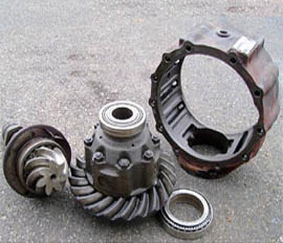 Unimog Ring and Pinion